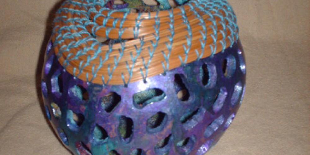 Gourd basket by Toni Best – Toni Best