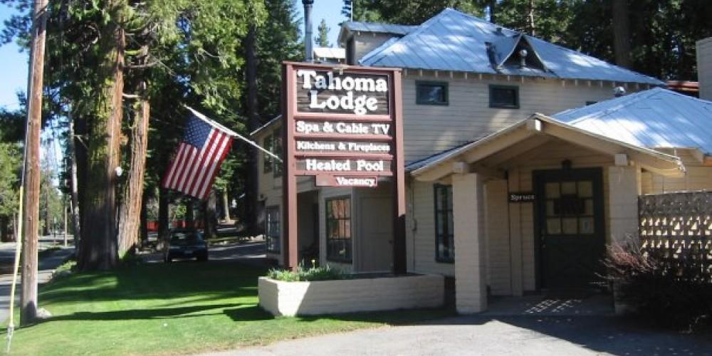 Tahoma Lodge on the West Shore of Lake Tahoe. – Tahoma Lodge