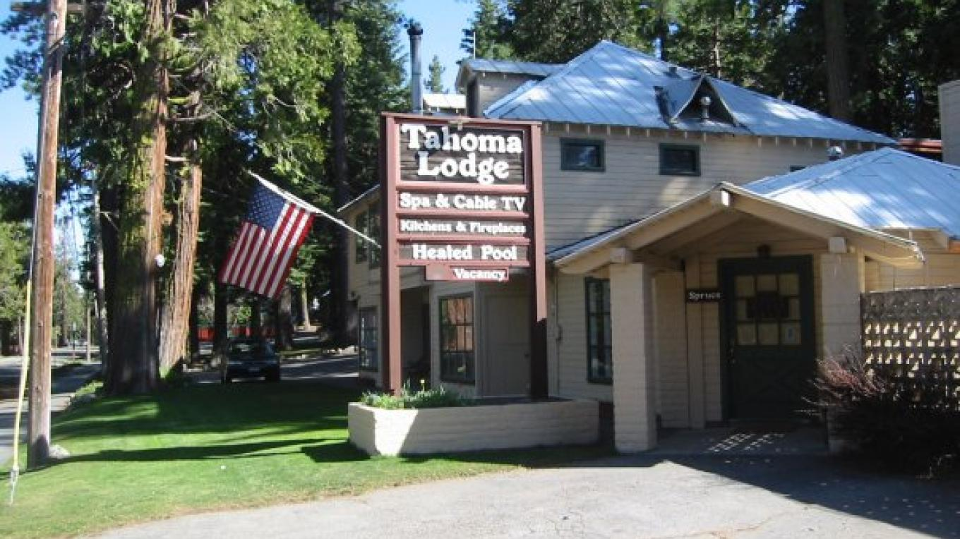 Tahoma Lodge on the West Shore of Lake Tahoe. – Tahoma Lodge