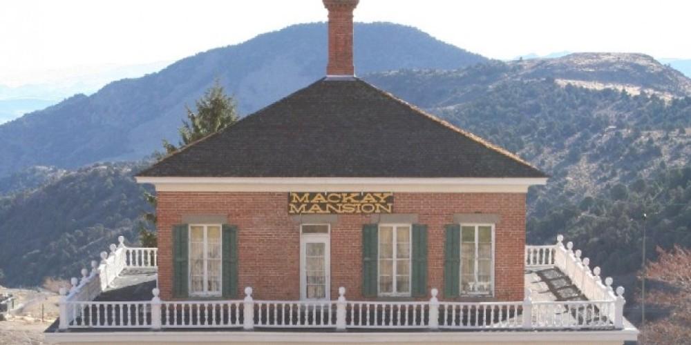 Mackay Mansion – Virginia City Visitor Center