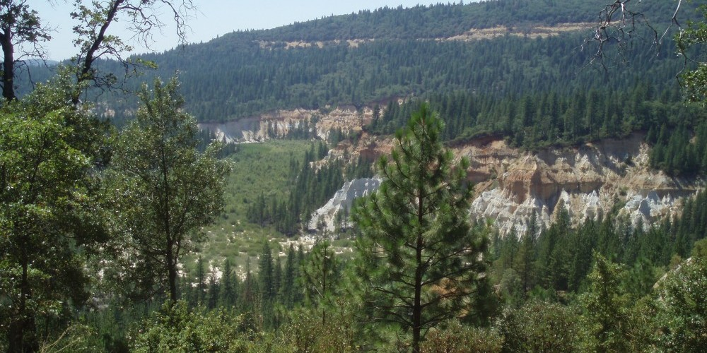 """The """"Diggins"""" from Chute Campground Overlook – Wes Nelson"""