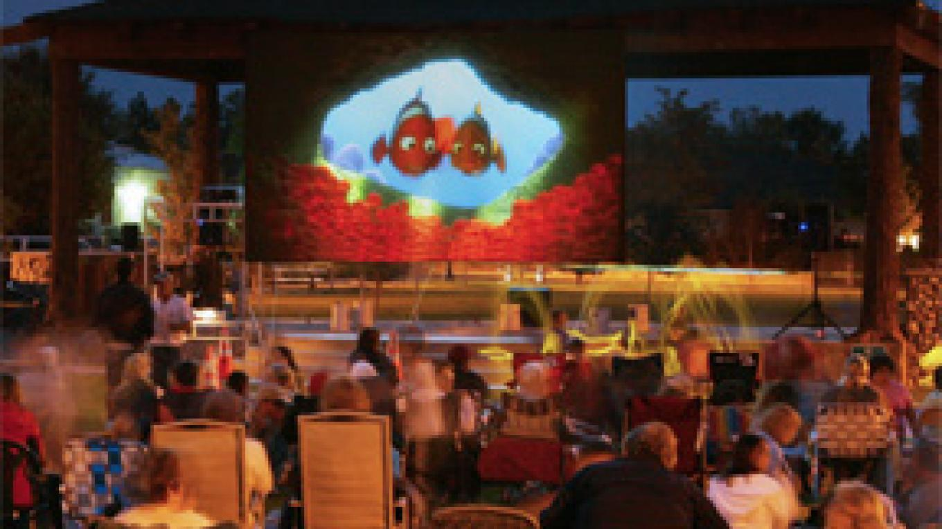 Movies in the Park, 2008