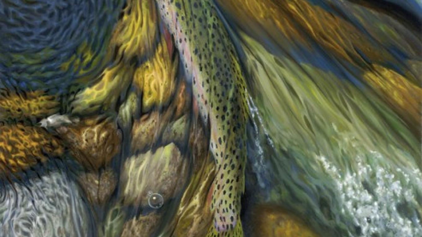 ""\""""On The Move"""" by 36x18 Oil Painting by Stavast (also available as a limited-edition print).""1360|764|?|en|2|4e214a33888fc495b4bf65258594d8d8|False|UNLIKELY|0.2812921404838562