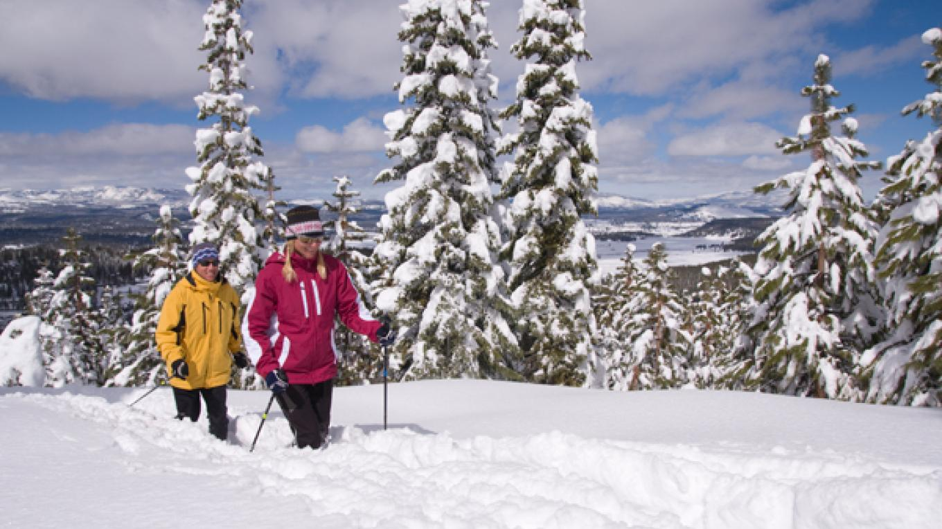 Snowshoeing at Northstar Resort – Stevenson