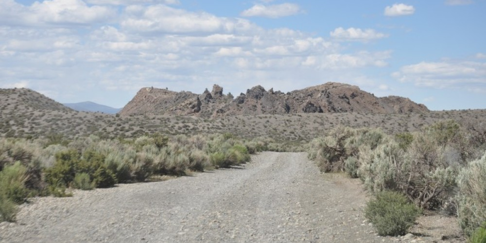 Heading figure: Panum Crater view from entrance road – Terry Wright