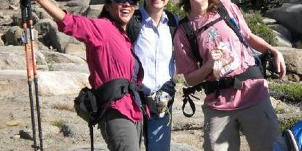 Happy hikers! – Kathy Hess