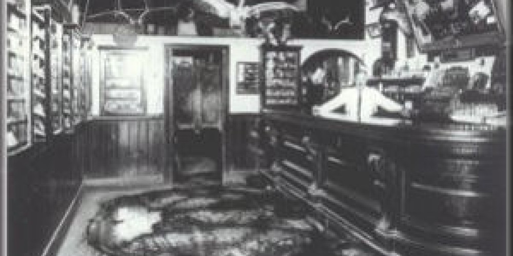 Interior of the Muldoon's Saloon. Edward Muldoon built the DePue home in 1872. Muldoon was the first person to live in the home. – www.amadorgold.net
