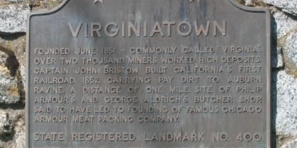 Virginiatown landmark – By Syd Whittle
