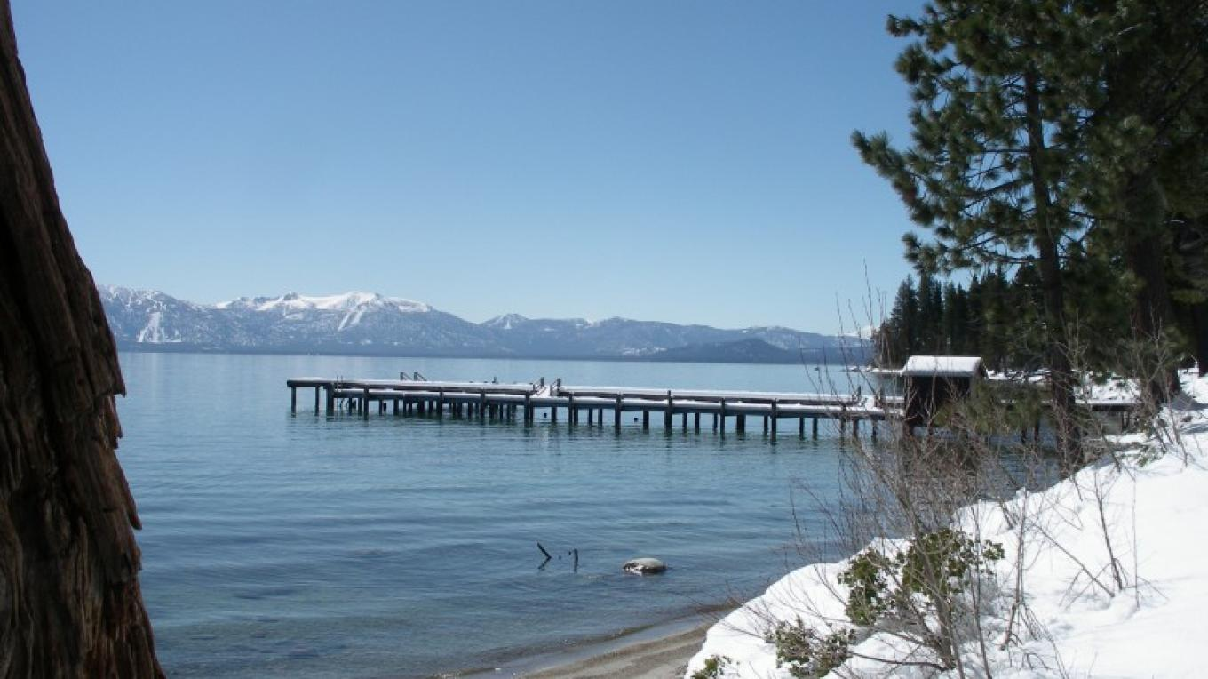 Sugar Pine Point State Park pier in winter – Susan Grove