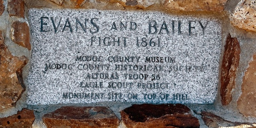 Site of Evans and Bailey Fight – noehill.com