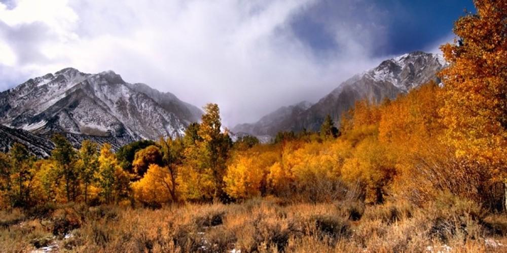 Mono Jim and Mount Morrison Peaks Fall – Patrick Martin