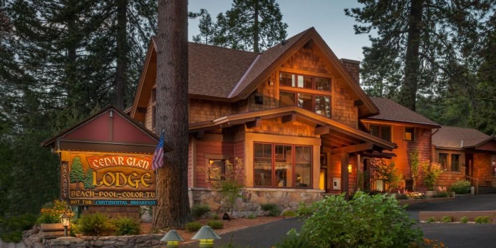 Our Main Building – Cedar Glen Lodge