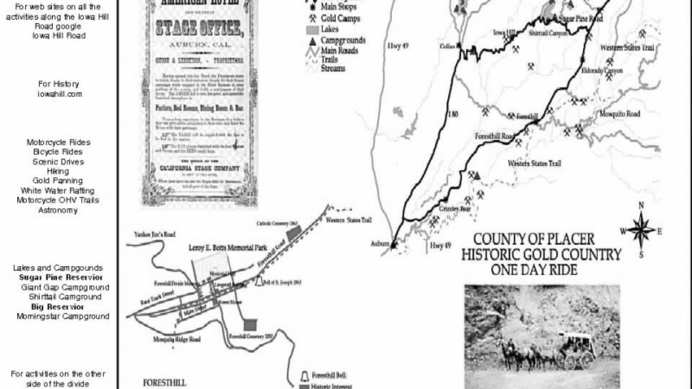 Activities and tour route – Mike Moffett