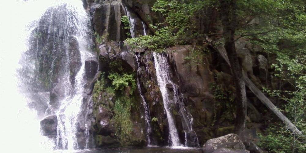 Light flow side of Corlieu Falls – Maureen Walling
