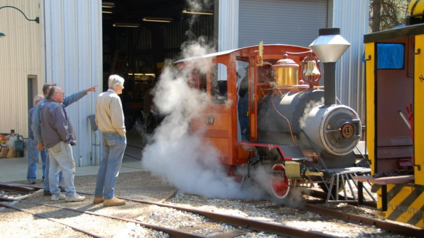 Our new Steam Engine; built from the ground up!