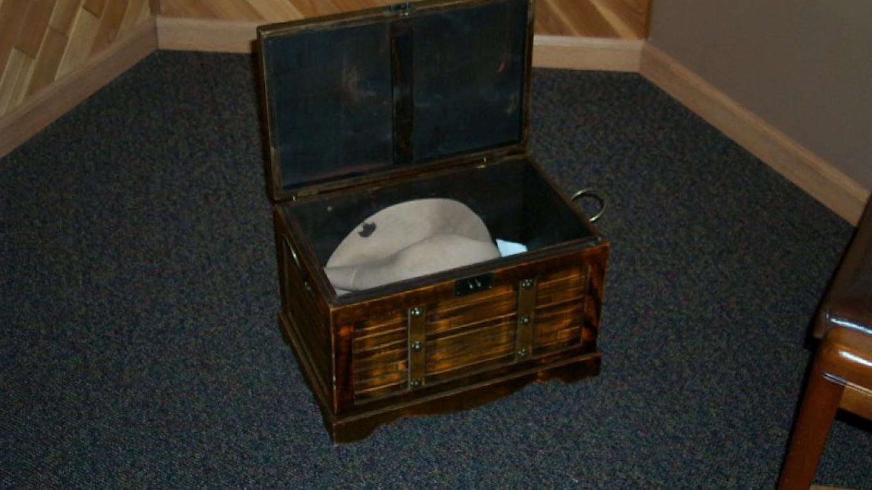 One of the museum's Mystery Trunks – Karen Mattson