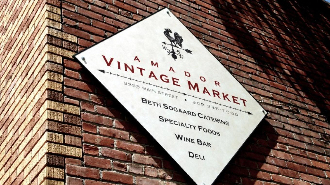 Amador Vintage Market on Main Street in Plymouth