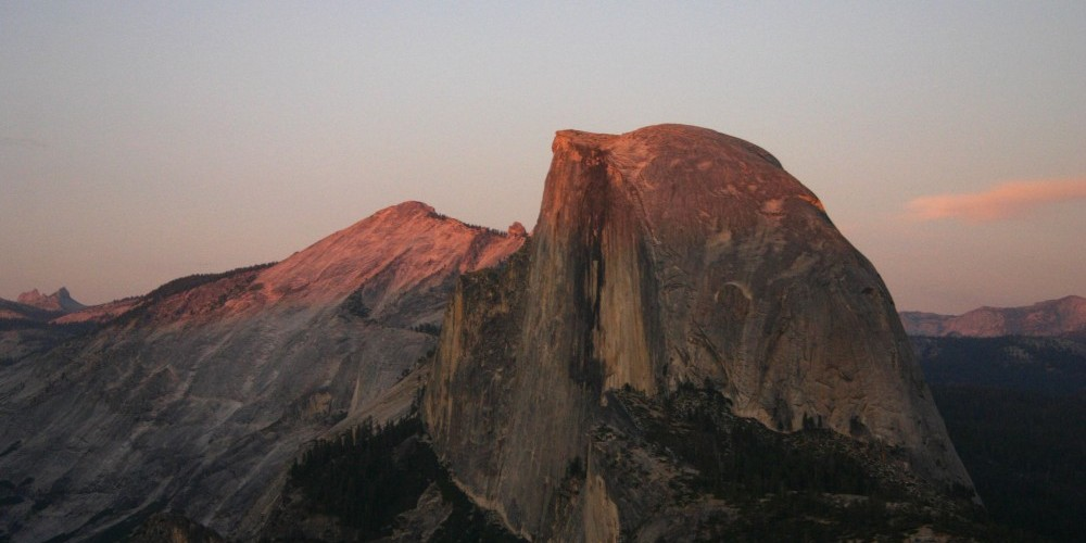 Half Dome at Sunset from Glacier Point – Pat Althizer