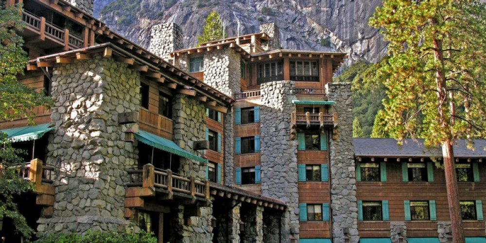 The Majestic Yosemite Hotel from the south lawn – Kenny Karst