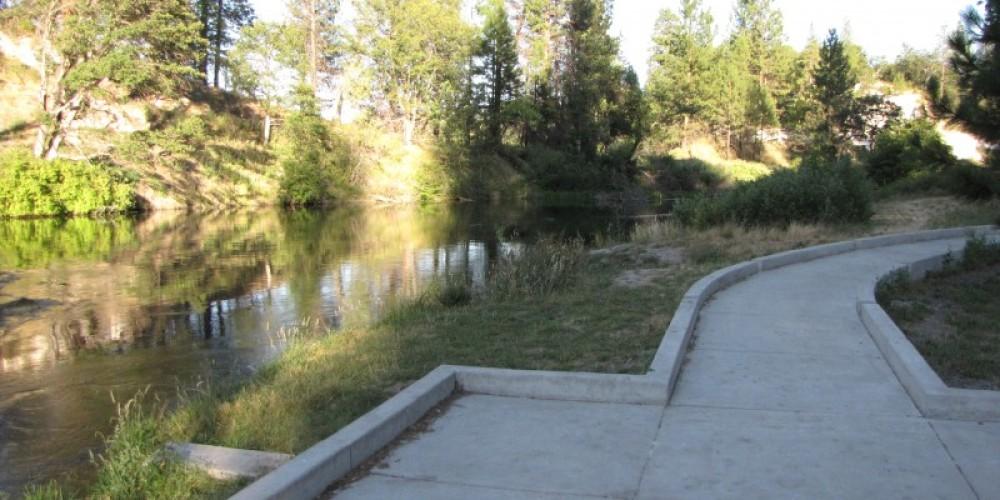 ADA accessible fishing on Hat Creek. – Ben Miles