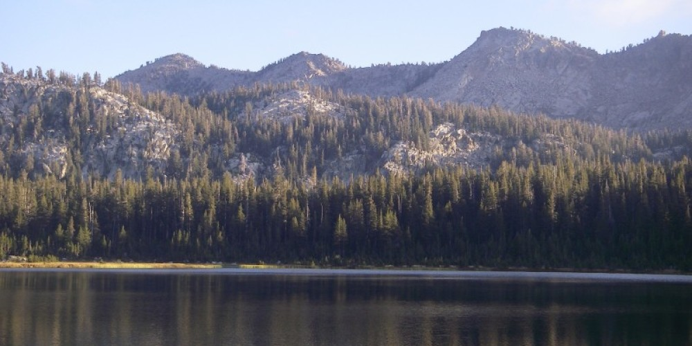 Three Sisters, viewed across First Dinkey Lake – David Young
