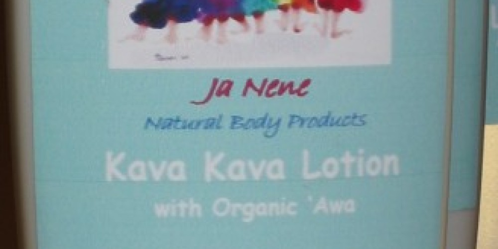 Kava-Kava Lotion made with organic Hawaiian 'awa – Janene Lasswell