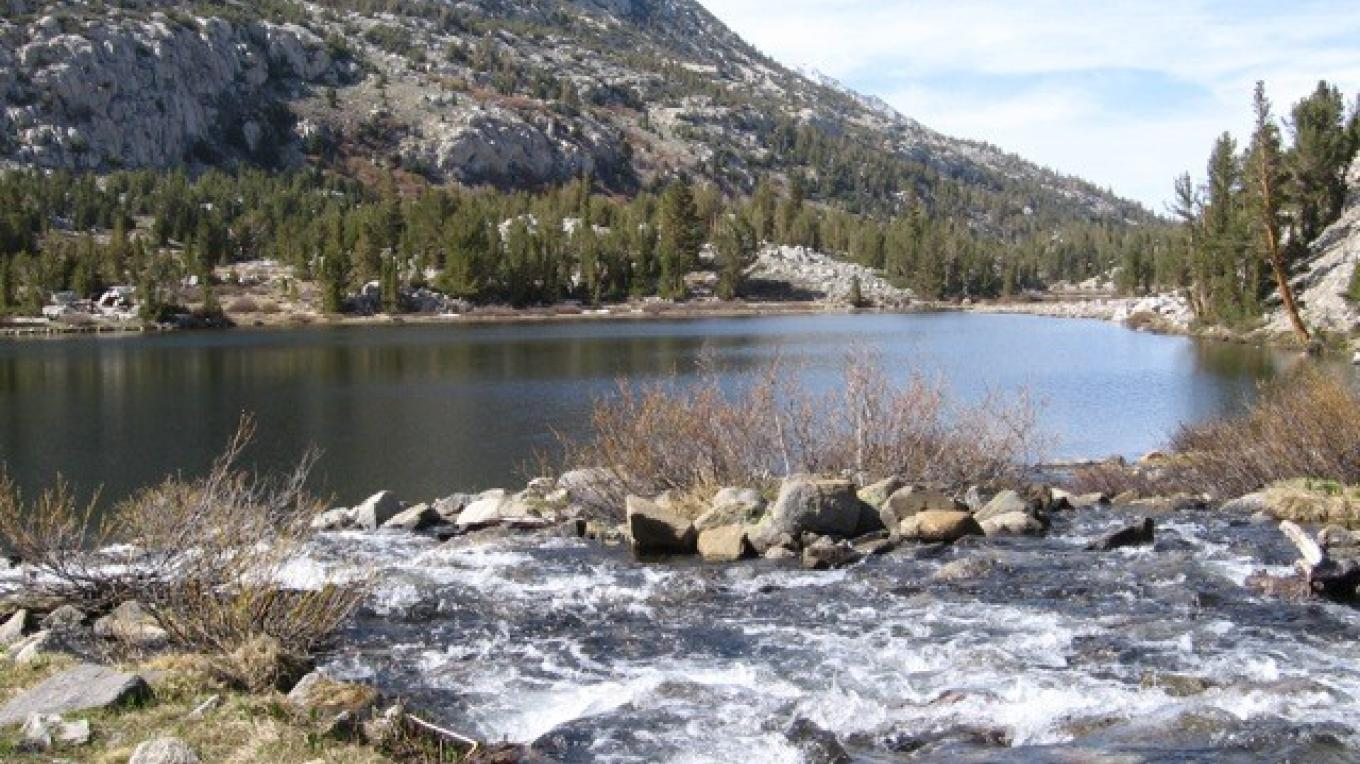 Rock Creek feeds a series of high country lakes – Bradley Cleveland