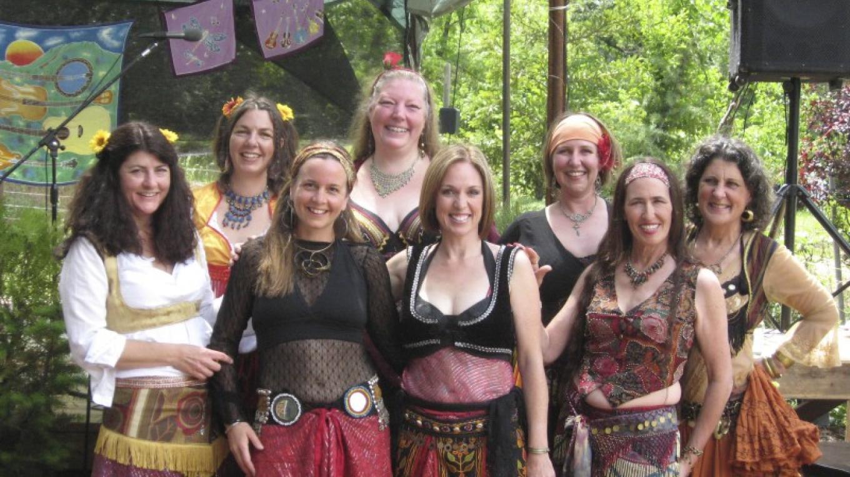 Dancers at Sierra Earthfest – Regina Hirsch