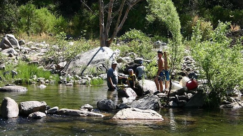 fun on the river – Roaring Camp