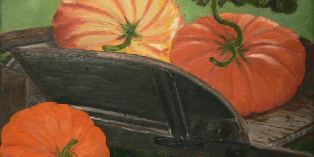 Pumpkins by Patsy Dolson. – Nadi Spencer