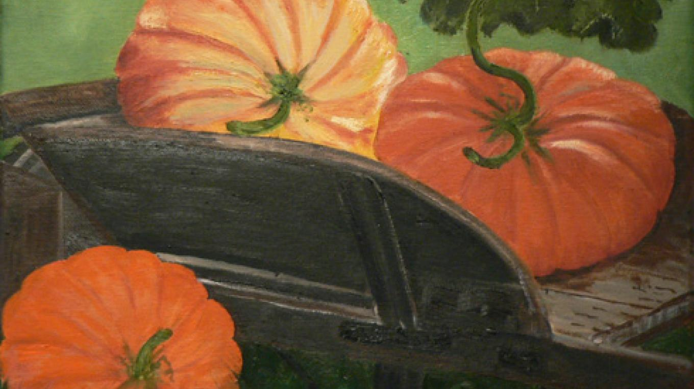 Pumpkins by Patsy Dolson. – Nadi Spencer