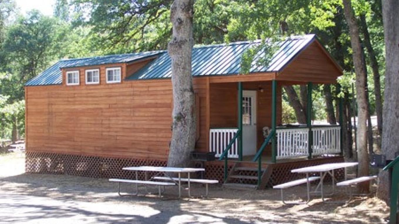 Our Family Cabin sleeps 6 with a full kitchen and bath. – Joe McGrath
