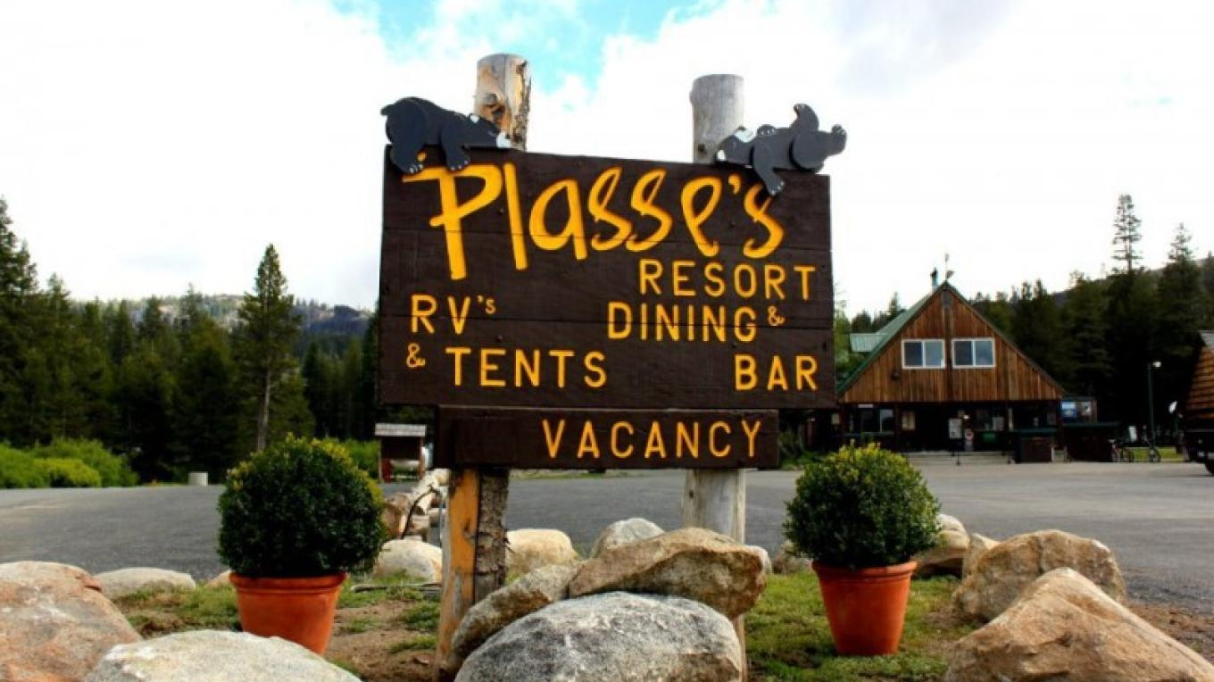 Plasse's Resort on Silver Lake in Amador County. – Plasse's Resort Facebook Page