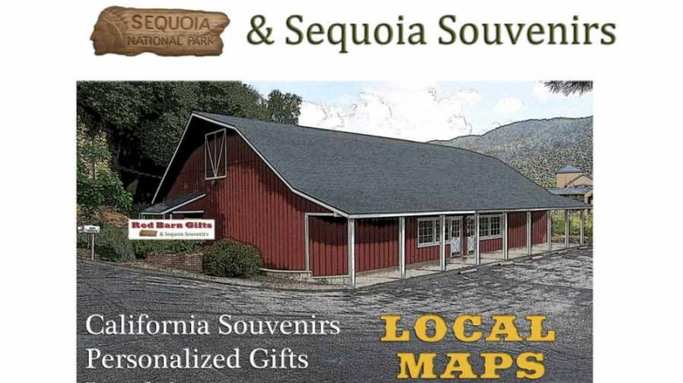Red Barn Gifts & Sequoia Souvenirs – Susan Fraser