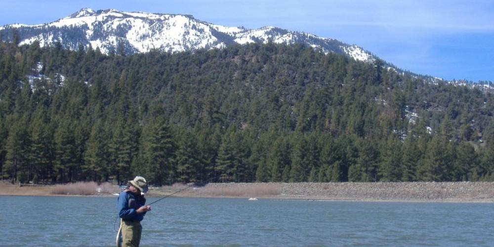 Indian Creek Reservoir in Spring, 20 minutes away. – Liz Weirauch
