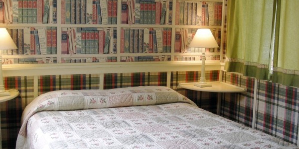 The Library because it's to small to be a bedroom sleeps 2 persons – CJS