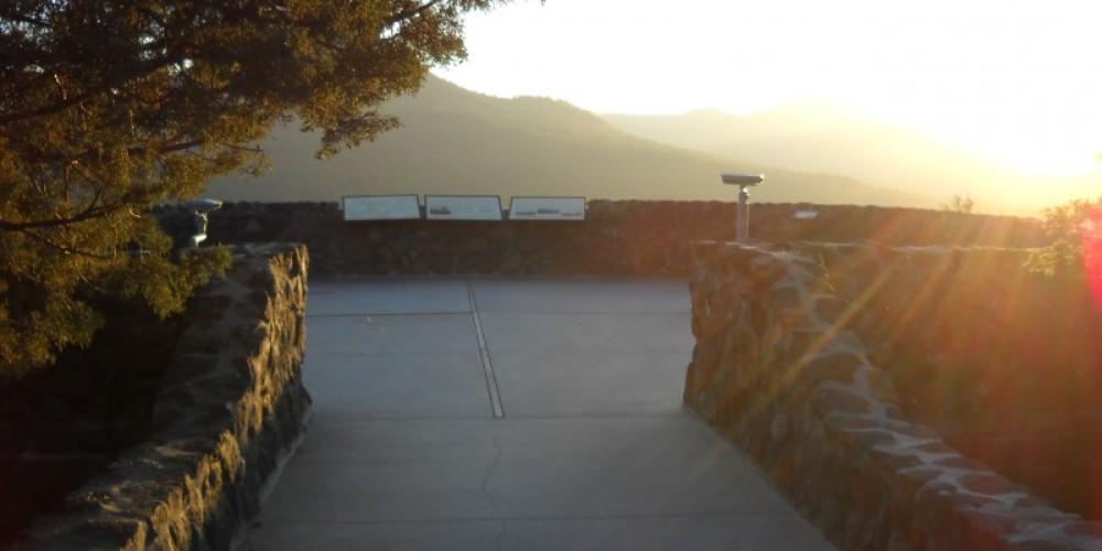 Hat Creek Rim Overlook. – Suzanne Scull