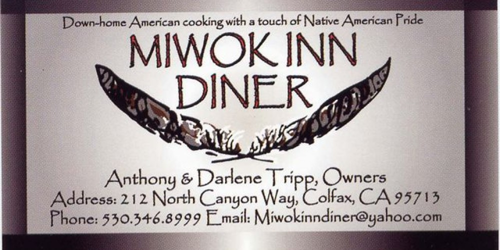 Miwok Inn Diner logo – Rebecca Martinez