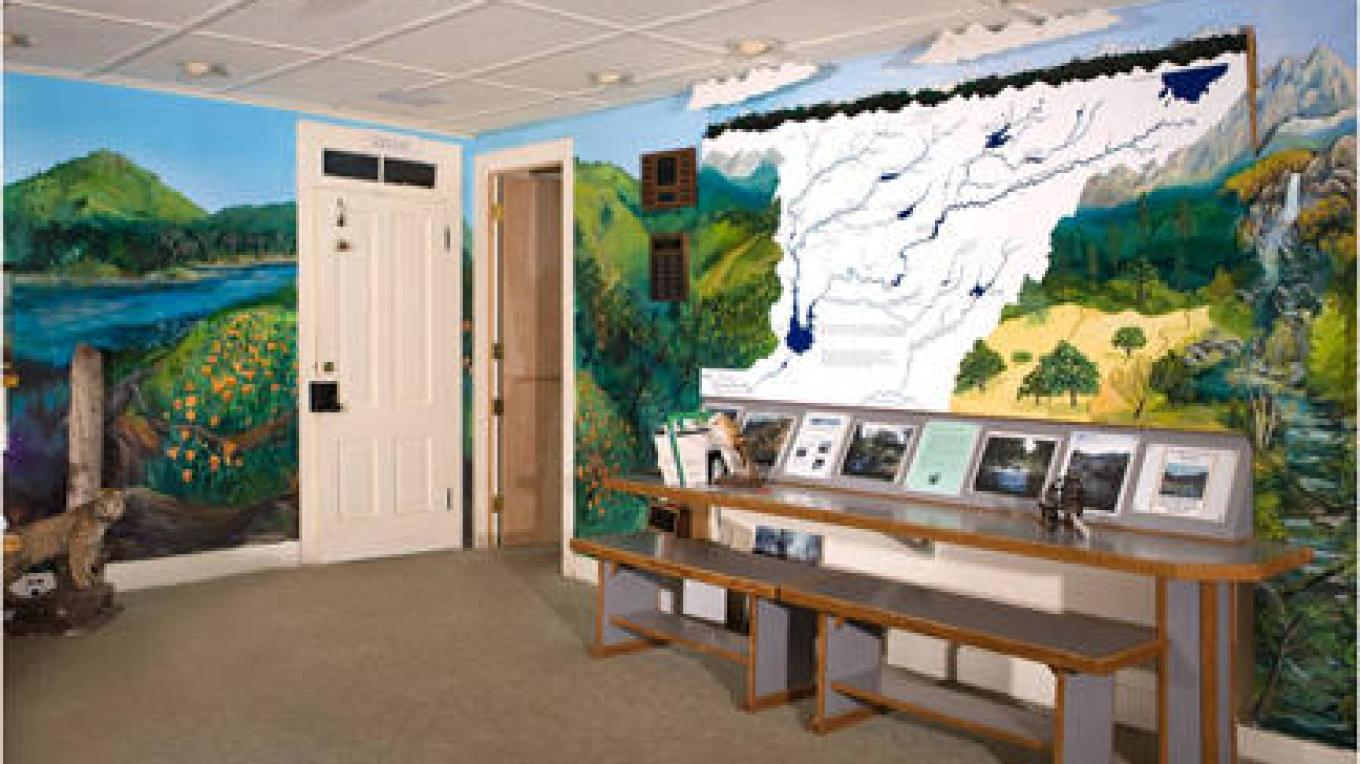 Nature Center Interior_3 – James Cole