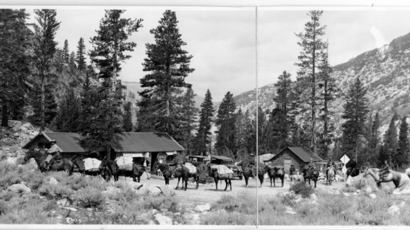 Generations of outdoor enthusiasts have made Parchers their base camp for  all  kinds of High Sierra adventures. – Eastern California Museum