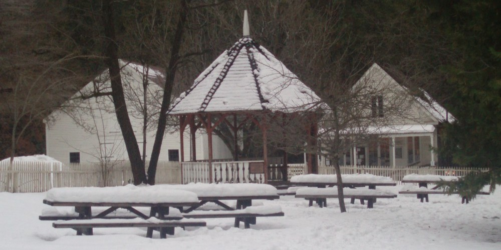 North Bloomfield with winter blanket – Wes Nelson