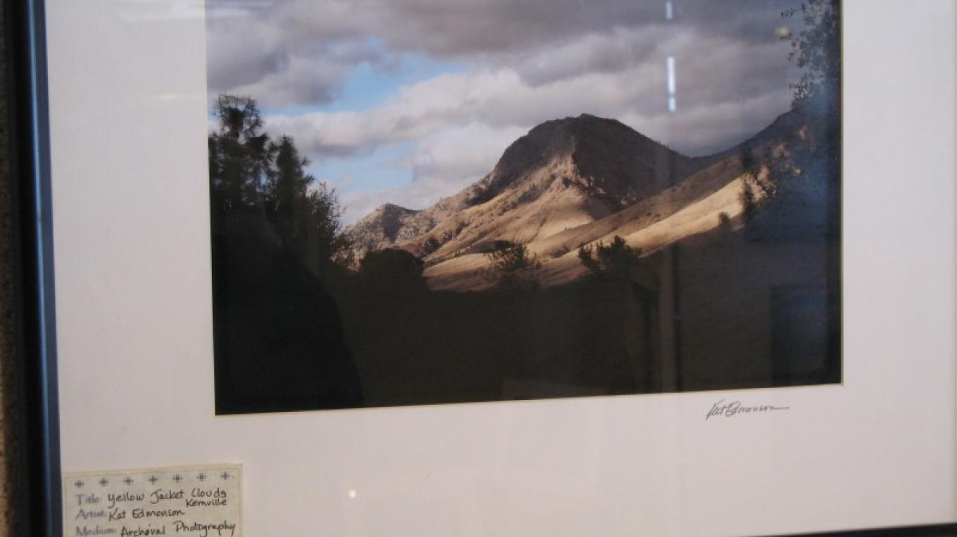 """""""Yellow Jacket Clouds"""" Kernville Archival Photo Kat Edmonson – Charles Topping"""