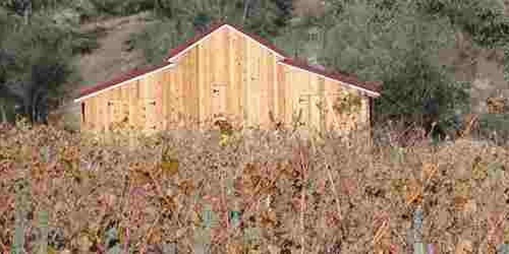 Westbrook Wine Farm winery in fall – R. Krause
