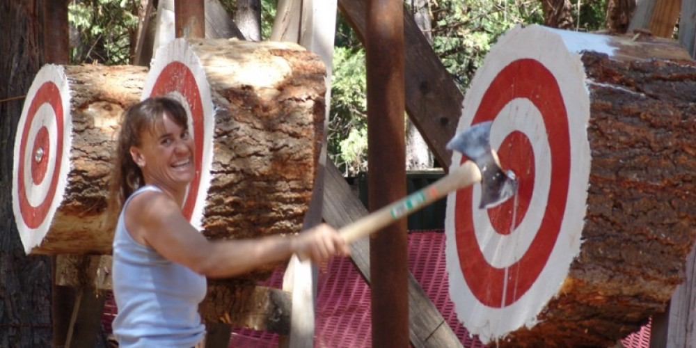 Bullseye – Sierra Nevada Logging Museum