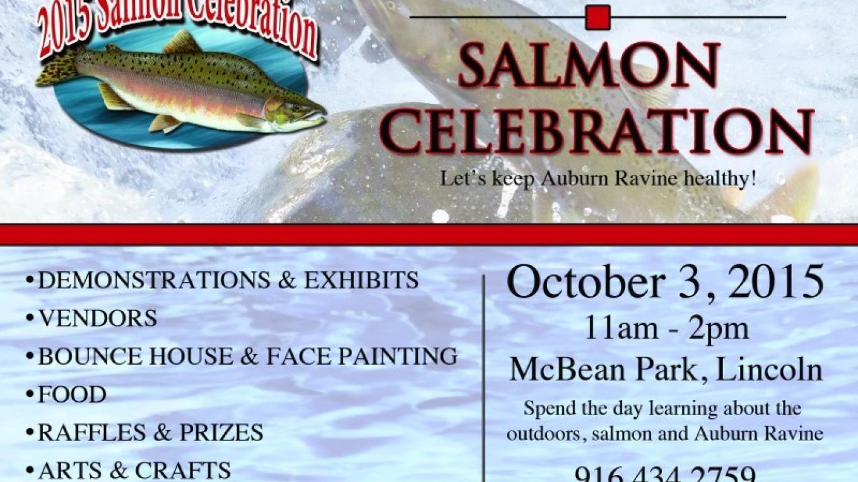 Join us for the 6th annual Salmon Celebration! – www.wildlifeheritage.org/salmon/
