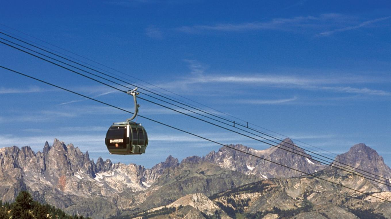 Mammoth Mountain Gondola and Minarets – Brad Peatross