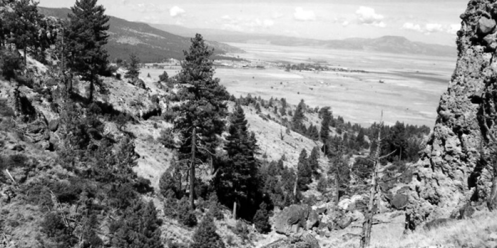 The Valley is a natural and geological wonder at around 5500 feet, with hot springs and wetlands – unknown