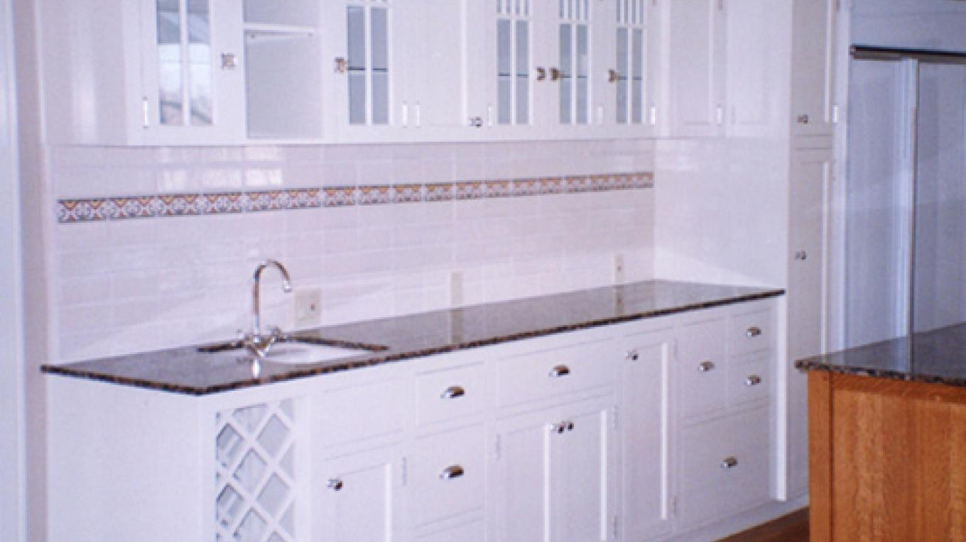 Arts and Crafts Kitchen Cabinets – martha widmann