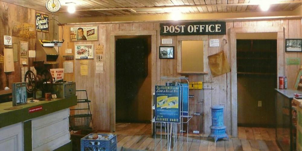 Post office inside general store – Susan Leeper