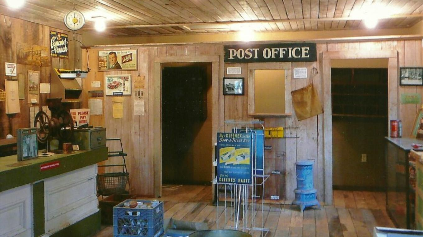 Post office inside general store – Susan Leeper